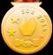 Goldmedaille im Eiskunstlauf Einzel